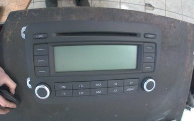 Radio CD / Multimediapanel - VW Passat -06