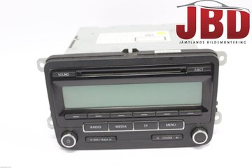 Radio CD / Multimediapanel - VW Caddy -11 1K0057187AX  1K0035186AA
