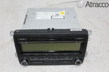 Radio CD / Multimediapanel - VW Transporter/Caravelle -10 5M0057187AX  5M0035186AA