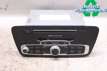 Radio CD / Multimediapanel - Audi Q3 -18   8U1035183D