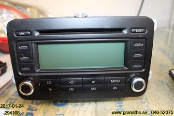 Radio CD / Multimediapanel - VW Passat -06  1K0035186P