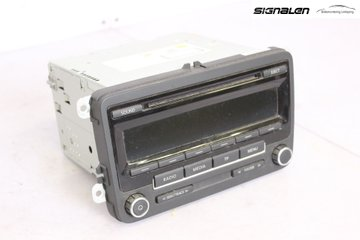 Radio CD / Multimediapanel - VW Caddy -13 1K0 057 186 AN  1K0 057 186 AN