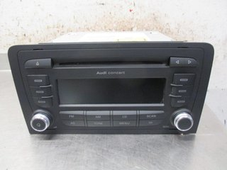 Radio CD / Multimediapanel - Audi A3, S3 -12 8P0057185BX 7640276380 8P0035186AB