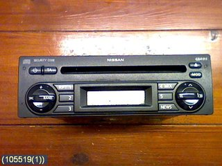 Radio CD / Multimediapanel - Nissan Note -07  BP5389 BLAUPUNKT