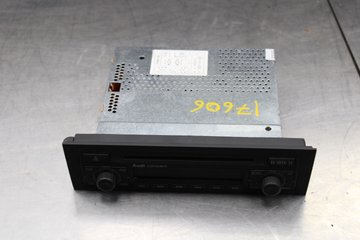 Radio CD / Multimediapanel - Audi A3, S3 -07 8P0035186C
