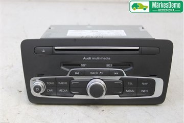 Radio CD / Multimediapanel - Audi A1 / S1 -15 8XA035193AX  8X0035193A