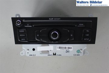 Radio CD / Multimediapanel - Audi A5 -09 8T1035186PX  8T1035186P