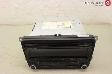 Radio CD / Multimediapanel - VW Caddy -11 1K0057187NX  1K0035186AN
