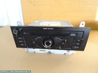 Radio CD / Multimediapanel - Audi A5 -11  8T1035186P