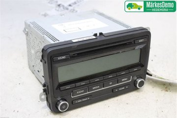 Radio CD / Multimediapanel - VW Golf, e-Golf -11 1K0057187AX  1K0035186AA