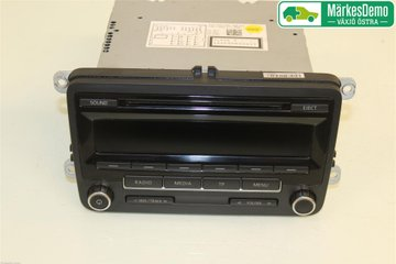 Radio CD / Multimediapanel - VW Caddy -12 1K0057186AN  1K0035186AN