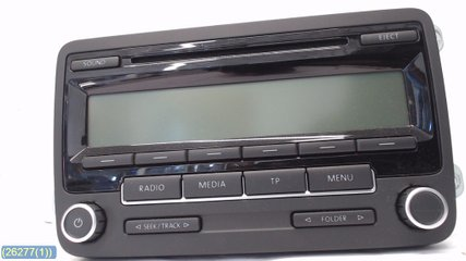 Radio CD / Multimediapanel - VW Golf, e-Golf -10 1K0035186AA 1K0 057 187AX 1K0057187AX