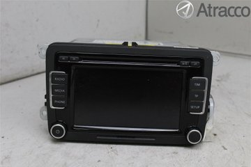 Radio CD / Multimediapanel - VW Passat -13 3C8057190CX  3C8035190C