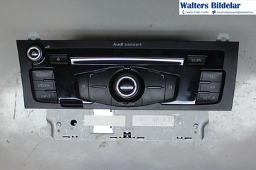 Radio CD / Multimediapanel - Audi A4, S4 -12 8R1057186FX  8R1035186F