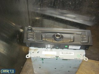 Radio CD / Multimediapanel - Audi A5 -10 8T1035186P