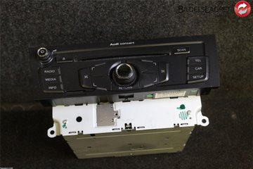 Radio CD / Multimediapanel - Audi A4, S4 -09 8T1 057 186 CX CQJA1870G 8T1035186C