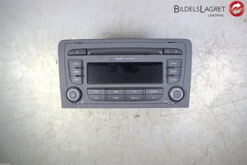 Radio CD / Multimediapanel - Audi A3, S3 -10 8P0035186S