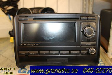Radio CD / Multimediapanel - Audi TT/TTS/TT RS -09  8J0035192L