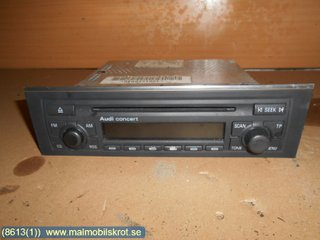 Radio CD / Multimediapanel - Audi A4, S4 -04 8E0 057 186 LX