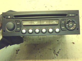 Radio CD / Multimediapanel - Peugeot 307 -06 9659139977