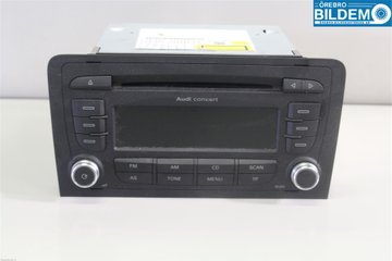 Radio / Stereo - Audi A3, S3 -13 8P0057185BX 7640276380 8P0035186AB