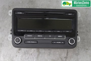 Radio CD / Multimediapanel - VW Caddy -15 1K0057186AN  1K0035186AN