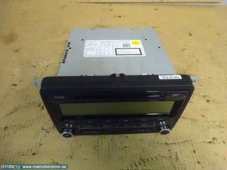 Radio CD / Multimediapanel - VW Golf, e-Golf -10 1K0 057 187 AX