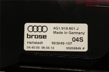 Radio CD / Multimediapanel - Audi A6, S6 -12 4G0919607J  4G1919601J