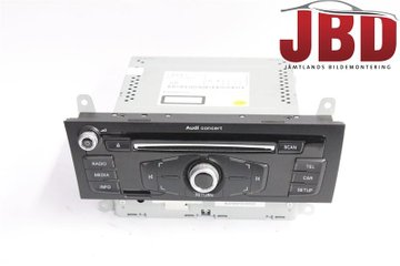Radio CD / Multimediapanel - Audi Q5 -15 8R1057186N
