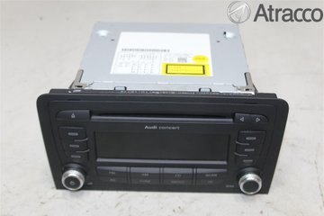 Radio CD / Multimediapanel - Audi A3, S3 -11 8P0057185BX  8P0035186AB