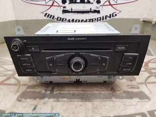 Radio CD / Multimediapanel - Audi A4 Allroad -11 8T1035186P  8T1 057 186 PX