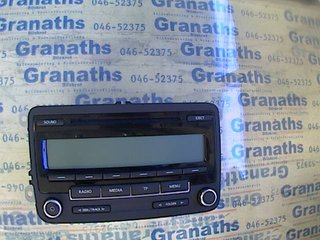 Radio / Stereo - VW Golf, e-Golf -10 DE2633 1K0035186AA BP7647201360