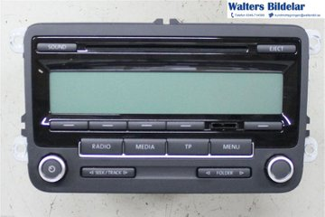 Radio CD / Multimediapanel - VW Polo -10 5M0057187AX  5M0035186AA