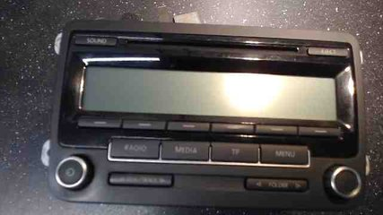 Radio CD / Multimediapanel - VW Passat -10 1K0035186AA BP7647201360