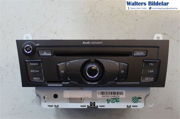 Radio CD / Multimediapanel - Audi A5 -11 8T1057186PX  8T1035186P