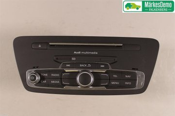 Radio CD / Multimediapanel - Audi Q3 -17 8U1035183D  8U1035183D