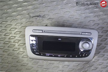 Radio CD / Multimediapanel - Seat Ibiza -10 6J1035153C  6J1035153C