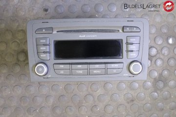 Radio CD / Multimediapanel - Audi A3, S3 -12 8P0057185BX  8P0035186AB