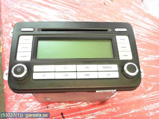 Radio CD / Multimediapanel - VW Caddy -07 1K0035186T 7643222360 BLAUPUNKT