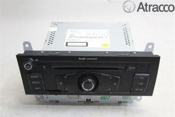 Radio CD / Multimediapanel - Audi Q5 -12 8T1857186PX  8T1035186P