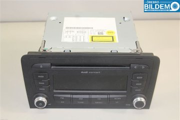 Radio / Stereo - Audi A3, S3 -12 8P0057185BX 7640276380 8P0035186AB