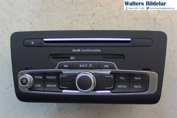 Radio CD / Multimediapanel - Audi A1 / S1 -17   8XA035183F