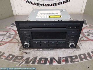 Radio CD / Multimediapanel - Audi A4, S4 -08 8E0 057 185 L  8E0035186AL