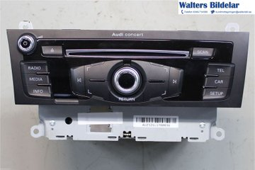 Radio CD / Multimediapanel - Audi A4, S4 -13 8R1057186FX  8R1035186F