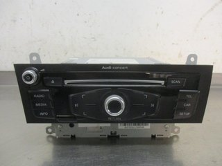 Radio CD / Multimediapanel - Audi A4, S4 -13 8R1057186FX CQ-JA12F0AE 8R1035186F