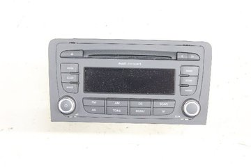 Radio CD / Multimediapanel - Audi A3, S3 -11 8P0035186AB