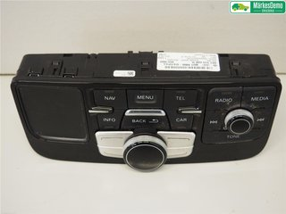 Radio CD / Multimediapanel - Audi A8, S8 -13 4H1919600M  4H1919600H