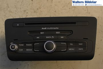 Radio CD / Multimediapanel - Audi A1 / S1 -14 8X0035193FX  8X0035193F