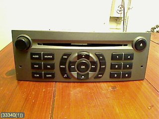 Radio CD / Multimediapanel - Peugeot 407 -06 6564W5 RD4 N2-01 BLAUPUNKT