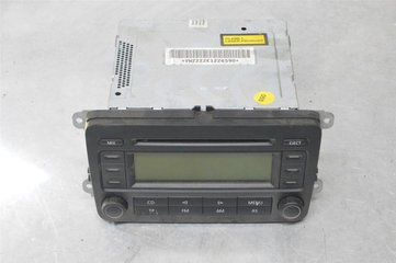 Radio CD / Multimediapanel - VW Golf Plus / Cross Golf -05 5M0035186